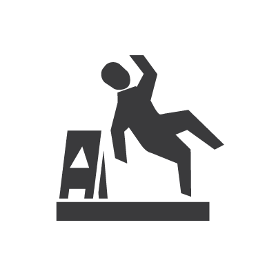 Occupational safety icon