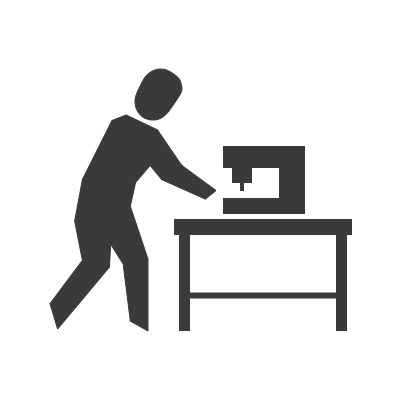 Shop / Makerspace Safety Icon
