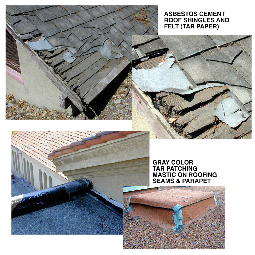 Asbestos fact sheet stanford environmental health safety roofing tar felt mastic shingles dailygadgetfo Images
